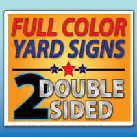 Discount Lawn and Yard Signs