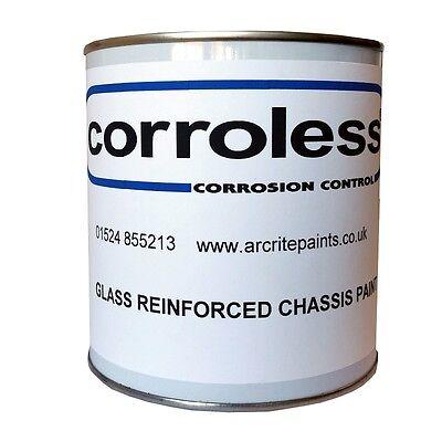 CORROLESS Rust Killer Glass Reinforced Chassis Semi Gloss Paint CHOOSE SIZE