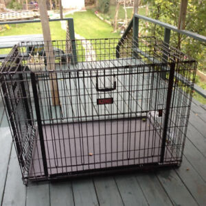 Large Dog Cage (KONG) - good condition - heavy