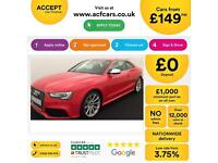 Audi RS5 FROM £149 PER WEEK!