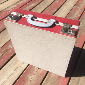 Vintage LP record carrying case