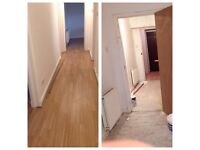 Professional Fitting Floor(wood & laminate), Tiles, Bathroom Services ,Painting . Experienced