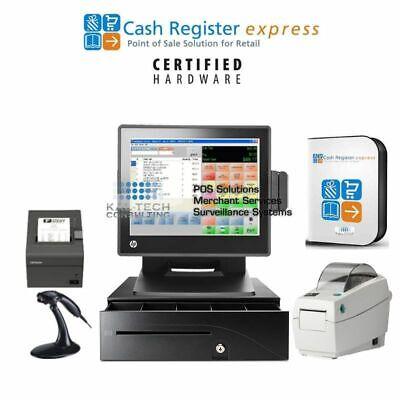 Pcamerica Cash Register Express Liquorretialconvenience Store Pos Wbce