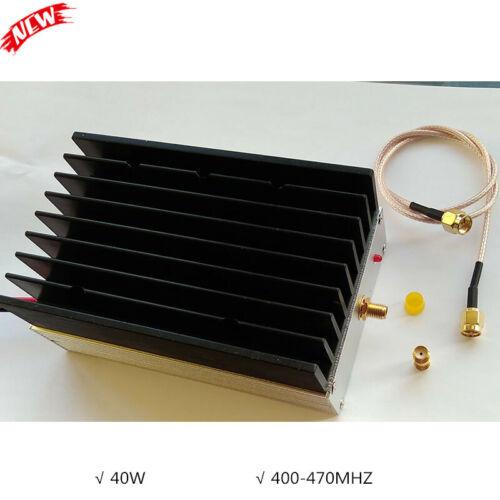 40W RF Power Amplifier 433 Linear Digital Transmission AMP for Walkie Talkie