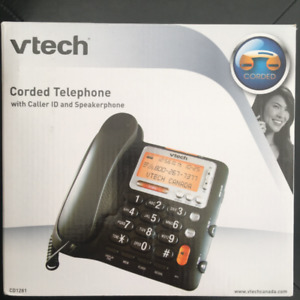 VTECH CORDED TELEPHONE CD1281