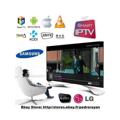 ✅ Iptv 12 Monate Allmend Arabisch,Türkisch, Deutsch, IT, FR, Europa m3u,Mag...