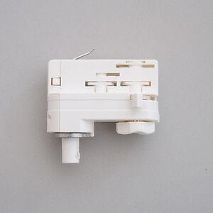 3 X  3 Phasen Adapter Universal weiss  für Stromschienen