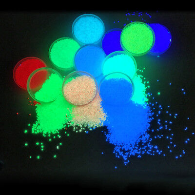 Glow Sand ( Luminous Particles Glow Pigment Bright Glow Sand Glow In The Dark Sand)