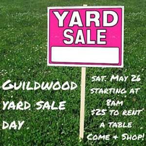 Guildwood Yard Sale - May 26 from 8am to 12pm