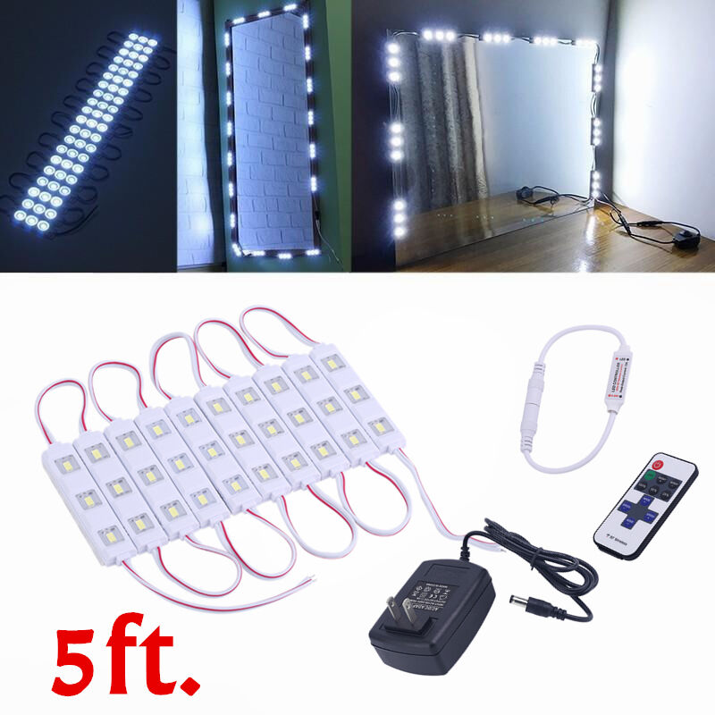 Mirror LED Light With remote For Cosmetic Makeup Vanity