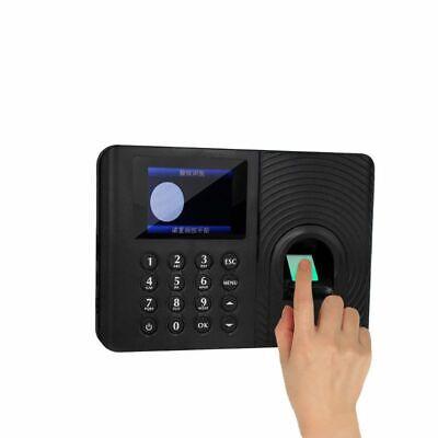 Fingerprint Attendance Machine Time Clock Employee Payroll Recorder Usb Flash