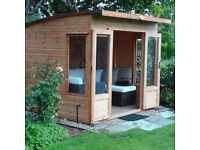 Waltons 8 x 8 Helios Summerhouse in Situ but in Lovely Condition