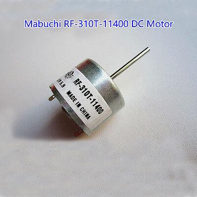 Mabuchi Rf-310t-11400 Micro Dc Motor Dc 3v-6v 5.9v 22mm Length Shaft Dia 2mm