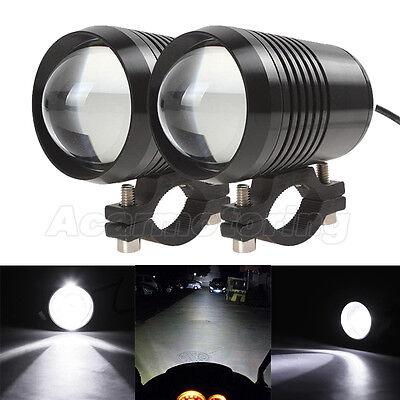 2x CREE U2 LED Headlight Spot Light For Honda Shadow VT750 1100 VTX 1300 1800 GL