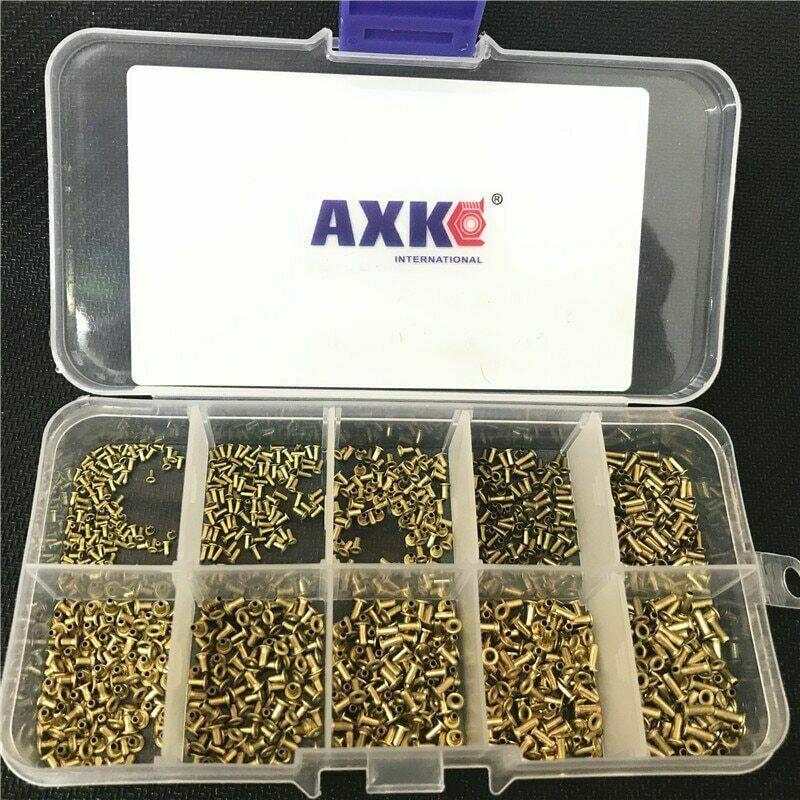 Circuit Board Nuts Kit Copper 1000pcs Fails Pcb Double-sided Tubular Gb876 Mix