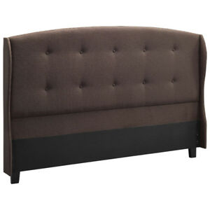 Richmond  Headboard - Queen Dark Brown(NEW)$85