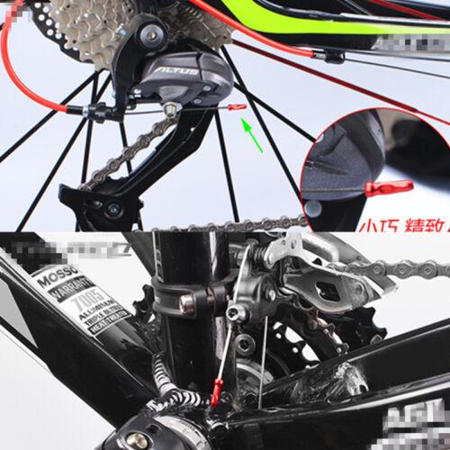 100x Bike Bicycle Shifter Brake Gear Inter Cable Tips End Cap Crimp Ferrule Set
