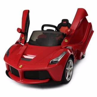 Licensed 12v Ferrari - Kids Ride on Car  - Free Number Plate Deal