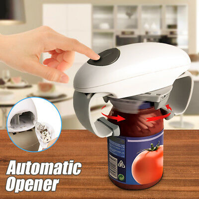Automatic Electric Jar Opener One Touch Tin Can Opener Kitchen Tools Gadget Kit