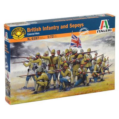 ITALERI British Infantry & Sepoys (Colonial War) IT6187 1:72 Figures