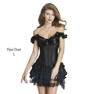 Corset Dress  Small Medium XLarge Lingerie cosplay skirt top