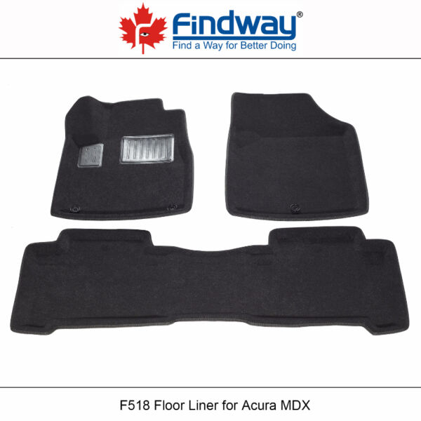 All Weather 3D Car Floor Mats/ Liners For 2007-2013 Acura