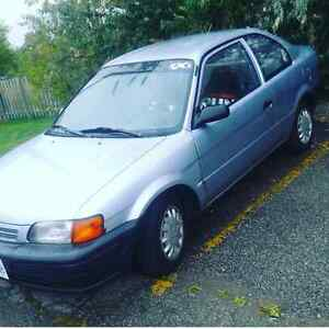 1996 Toyota Tercel for trade or $400