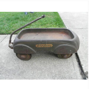 WANTED: antique pedal car, tractor, scooter, wagon, tin toys etc London Ontario image 7