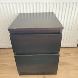 Ikea malm bedside tabke