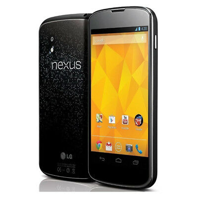 Nexus 4 E960 - 16GB - Black (T-Mobile) Smartphone Very Good Condition