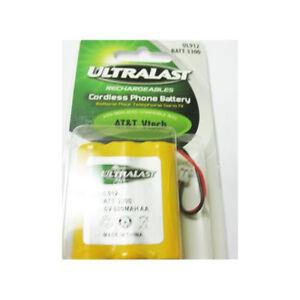 3 batteries neuves pour téléphone sans fils AT&T