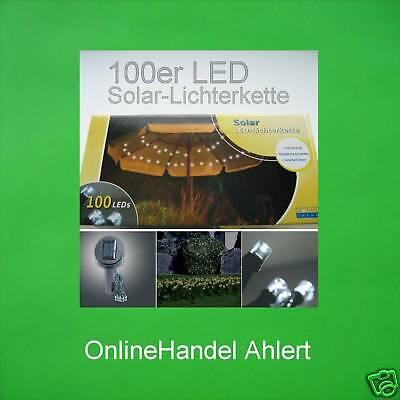 100er LED Catena Luci solari DI LUME LAMPADA DA GIARDINO