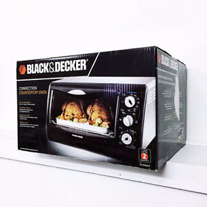 New Black and Decker Convection Toaster Oven 6-Slice
