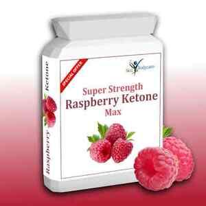120 Raspberry Advanced Ketone Max Super Strength Weight loss Diet Slimming Pills