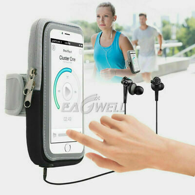 Sports Running Jogging Gym Arm Band Phone Holder Touch Screen Bags For Samsung Band Touch Screen Phone