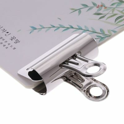 Metal Bulldog Clips Paper Letter Document Ticket File Binder Grip Clip Clamps