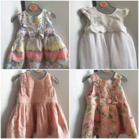 Baby Girl Dresses 3-6 months bundle