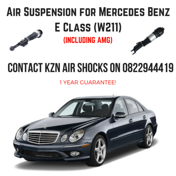 Mercedes Benz E Class Air Suspension