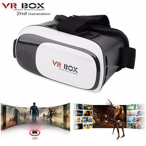 New Google Cardboard VR BOX Virtual Reality 3D Glasses Lunettes