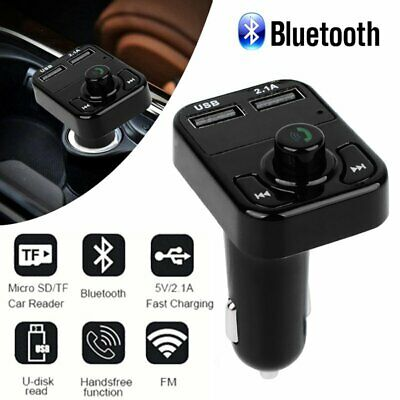 Wireless Bluetooth Car Kit FM Transmitter Radio Adapter MP3 Player USB Charger