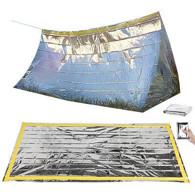 t mit Notfall-Zelt und Folien-Schlafsack (Rettungssack) (Folien-schlafsack)