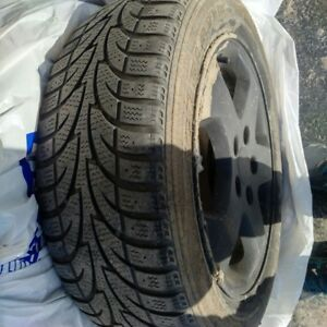 Honda Civic Winter Tires  in Excellent Condition  205/55 R16