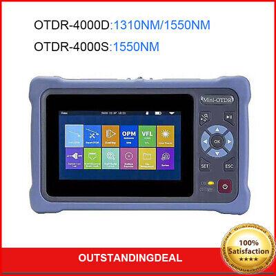 Mini-otdr 100km Optical Time Domain Reflectometer Kit 24db W 4.3 Touch Screen