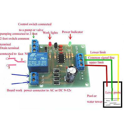 Liquid Level Controller Sensor Module Water Level Detection Sensor Component Pl