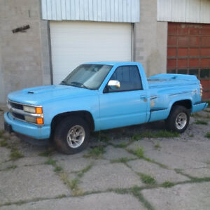 1991 CHEVY STEP SIDE FOR PARTS