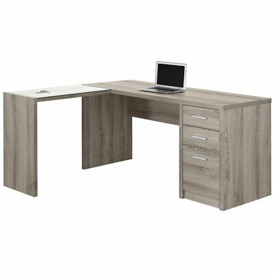 Monarch Specialties I 7138 L-Shaped Computer Desk
