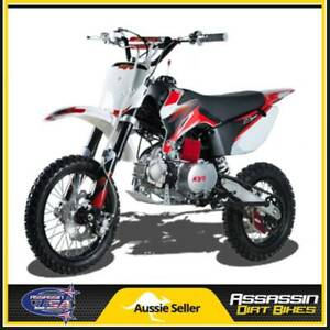 TR 110 SEMI AUTO 110CC 4 STROKE ASSASSIN DIRT BIKE USA MOTOR PIT Taren Point Sutherland Area Preview