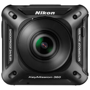 NIKON KEYMISSION 360 WATERPROOF 4K ACTION CAMERA WITH GIMBAL