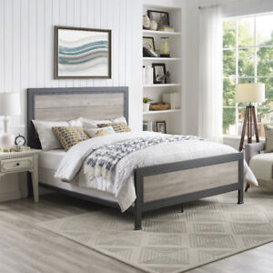 Brand New Rustic Queen Bed Frame