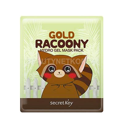[SECRET KEY] Gold Racoony Hydro Gel Mask Pack 30g * 3pcs / Bright